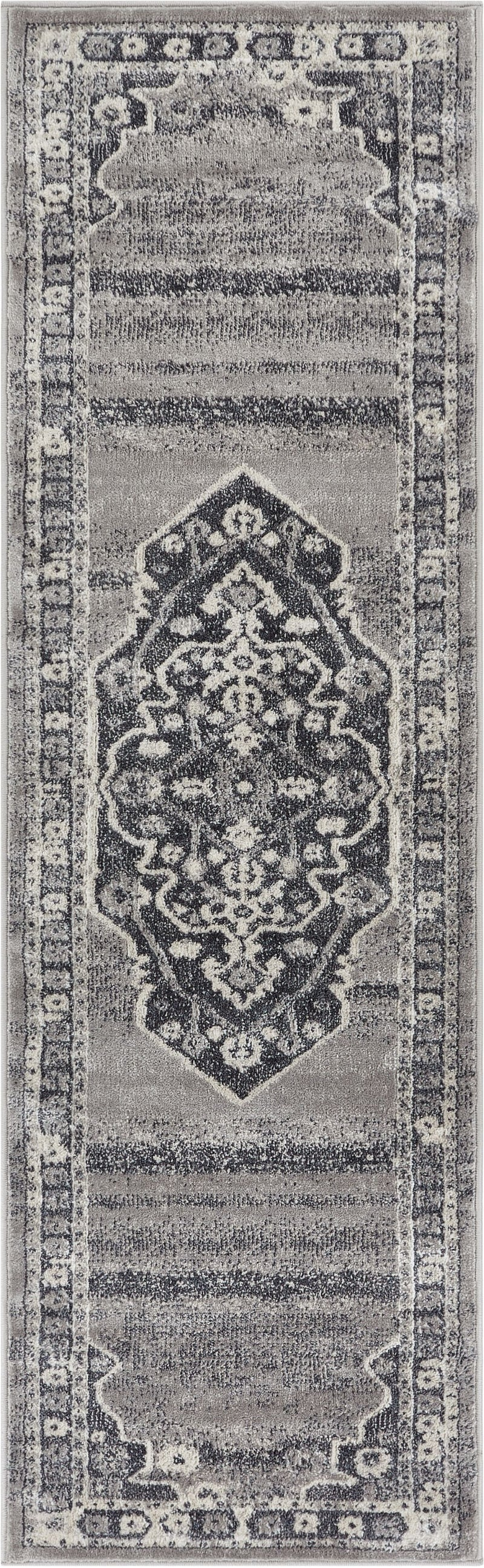 Republic Dark Grey Modern Rug