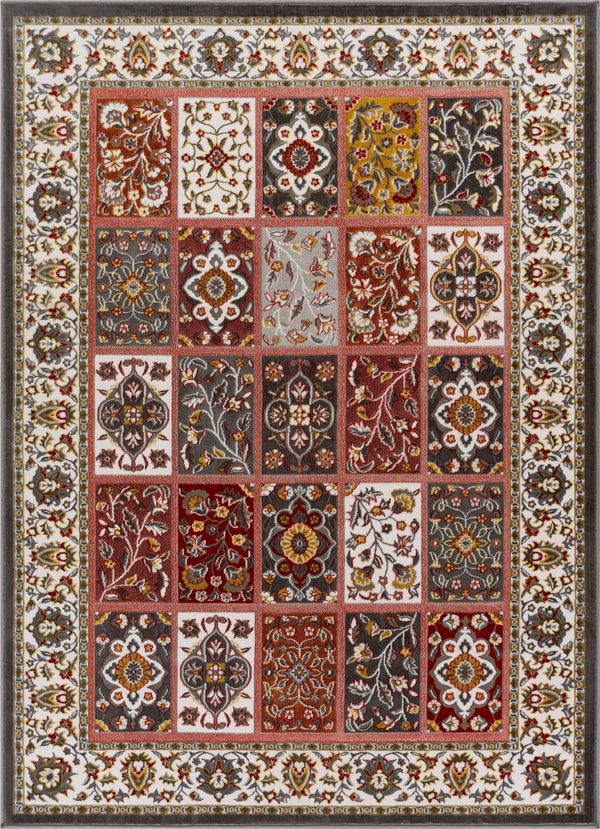 Ornamental Multi Traditional Rug