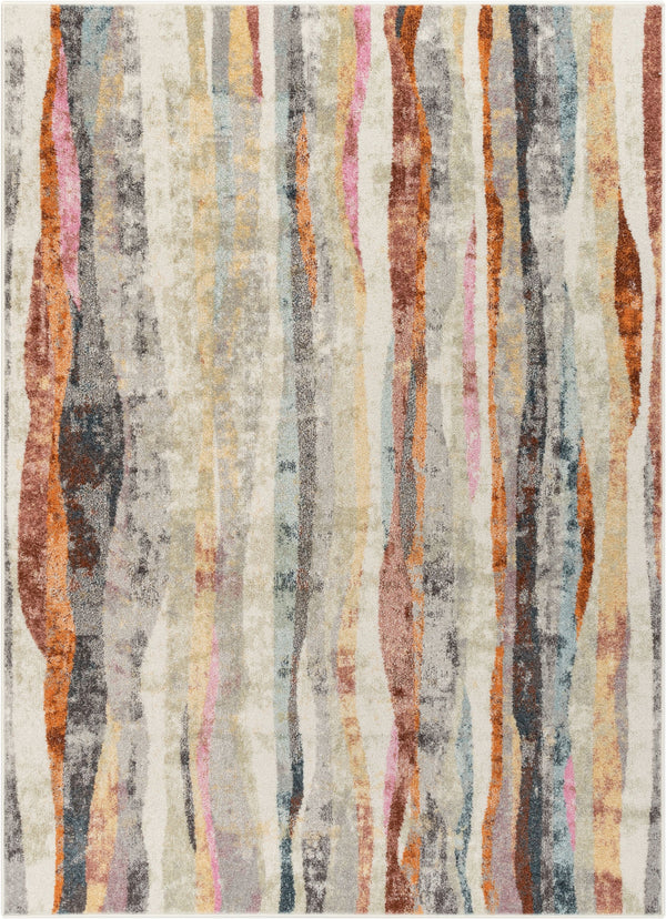 Dillon Bohemian Vintage Stripes Multi Rug