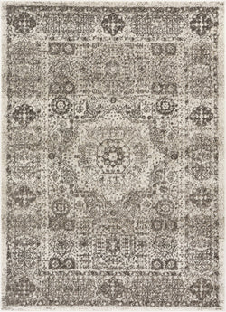 Millie Ivory Traditional Medallion Rug