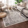 Millie Ivory Vintage Traditional Medallion Distressed Rug