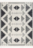 Ada Moroccan Tribal Geometric Grey Rug