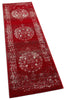 "Mora Red Traditional Vintage Persian Distressed Rug 7'10"" x 9'10"""