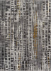 "Unimaginable Grey Modern  Rug 3'11"" x 5'3"""