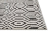 Graceful Grey Modern Rug
