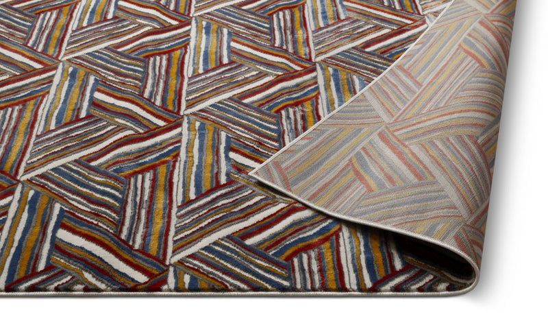 Breathless Multi Modern Rug