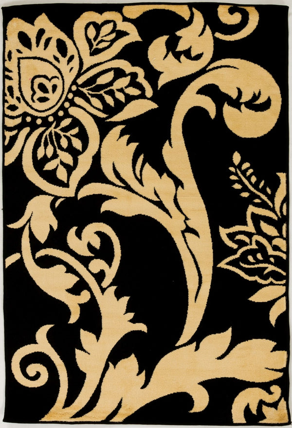 Sample Sale Tan Black 4' x 6' SS-0224 Rug