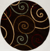 "Sample Sale Brown 5'3"" Round SS-0227 Rug"