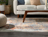 Trafalgar Global Vintage Abstract Distressed Multi Rug By Chill Rugs