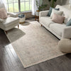 Zocalo Global Vintage Oriental Distressed Cream Rug By Chill Rugs