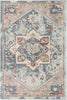 Grote Global Vintage Medallion Blue Rug By Chill Rugs