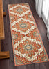 Oracle Crimson Traditional Medallion Authentic Rug