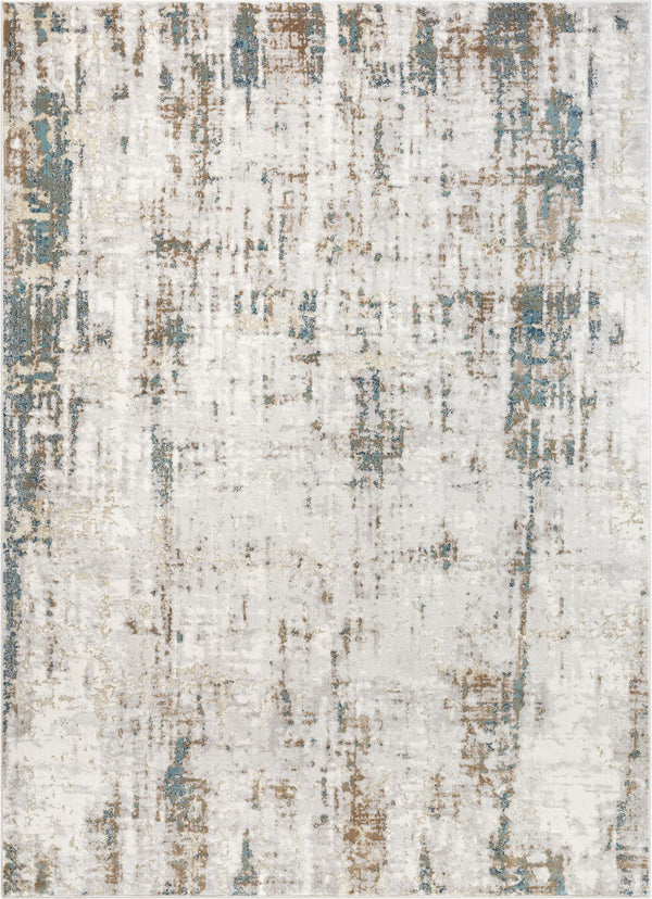 Matteo Vintage Distressed Blue Rug
