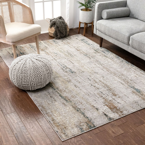 Luca Vintage Distressed Blue Rug