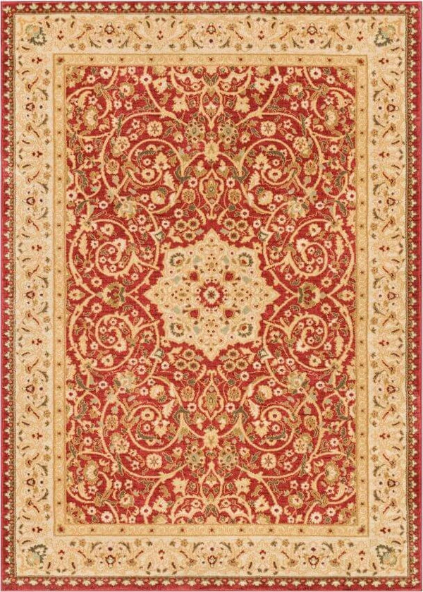 Sophia Red Traditional Rug
