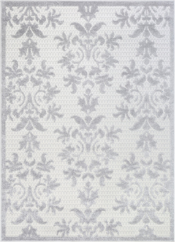 Lea Beige Victorian Floral Rug