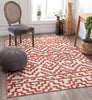 Katrin Rust Contemporary Geometric Rug