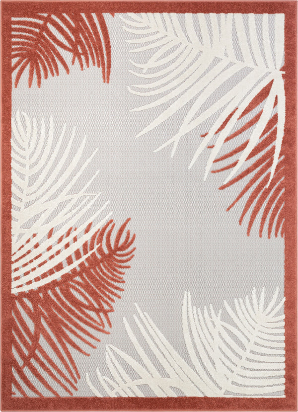 Rada Orange Novelty Botanical Rug