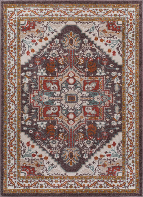Celesita Brown Traditional Rug
