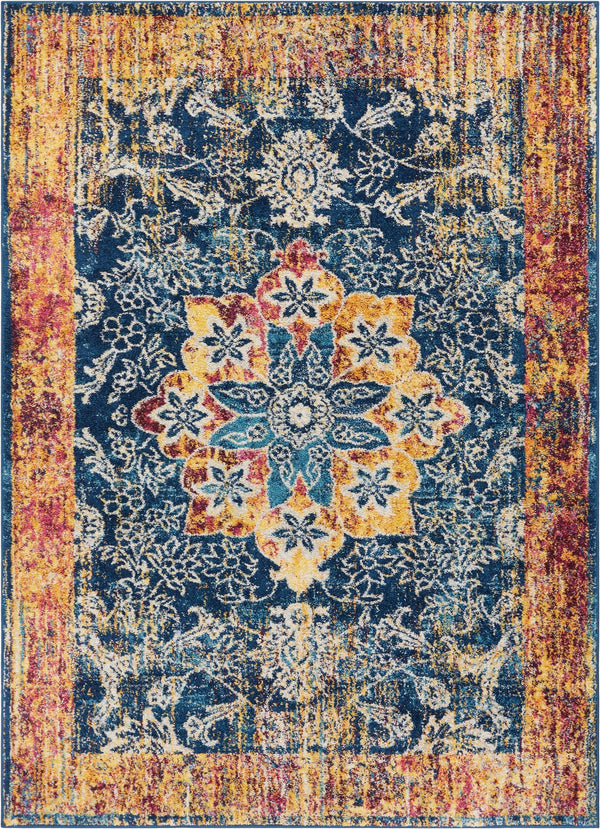 Figaro Multi Traditional Vintage Rug