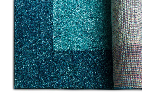 Felize Blue Modern Solid Rug