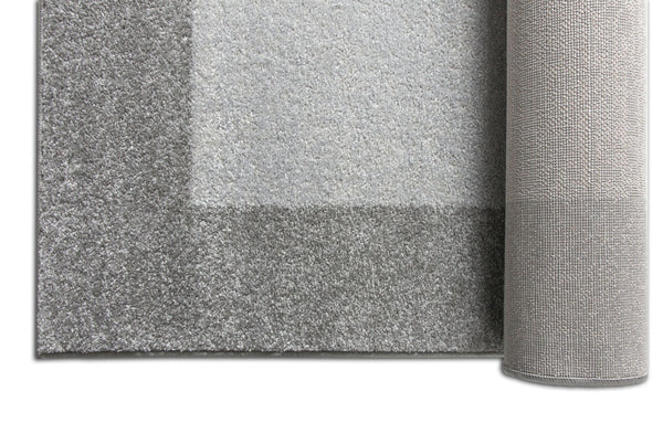 Felize Grey Modern Solid Rug