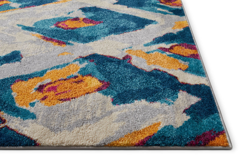 Weymoth Multi Modern Ikat Rug