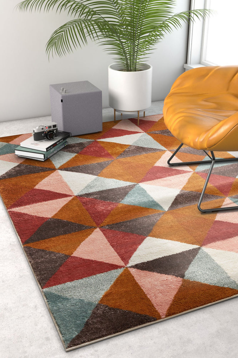 Lexington Multi Modern Geometric Rug