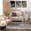 Corto Grey Traditional Rug