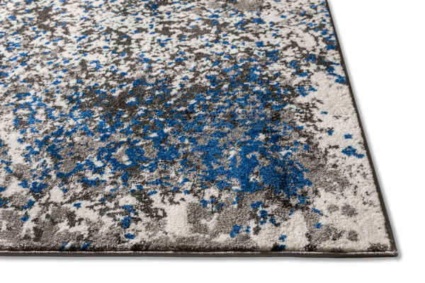 Magari Blue Modern Abstract Rug
