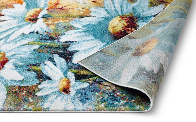 Endless Multi Modern Flower Rug