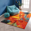 Destiny Multicolor Bright Modern Abstract Rug