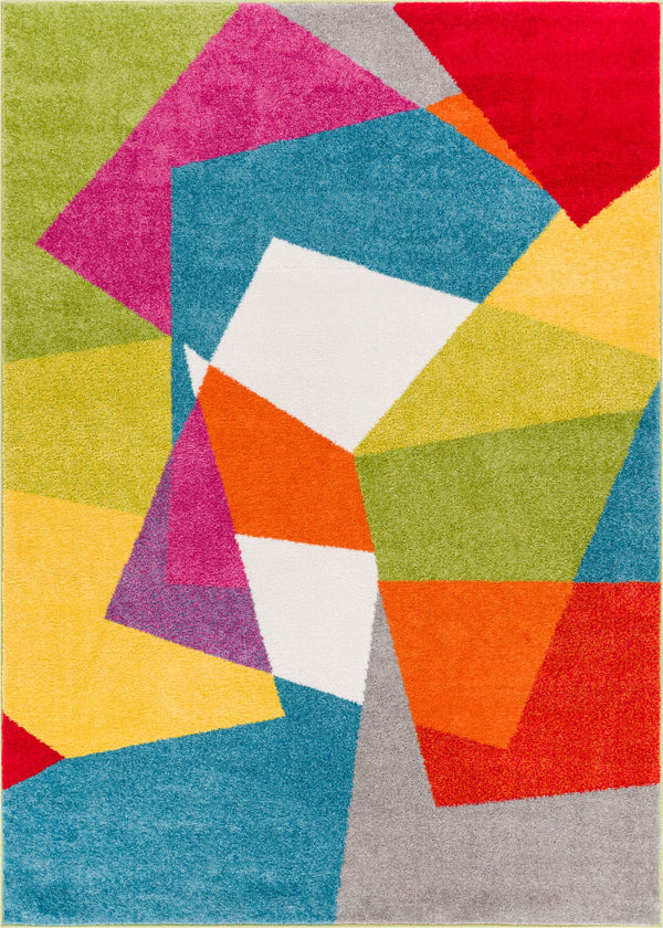 Excitement Multi Mid-Century Modern Rug