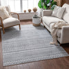 Easton Grey Modern Geometric Rug