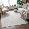 Molly Cream Modern Ikat Tribal Rug