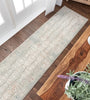 Grace Grey Vintage Persian Oriental High-Low Rug