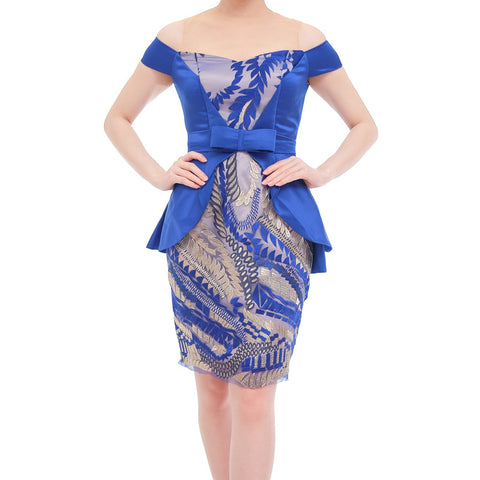 DANIELLA DRESS - ELECTRIC BLUE