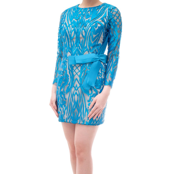 KYLIE DRESS - BLUE