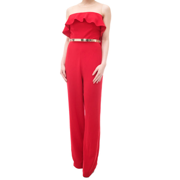 KARLA JUMPSUIT - RED