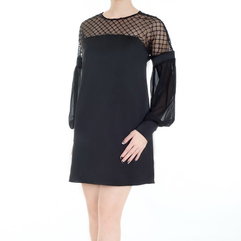 GIANNI DRESS - BLACK