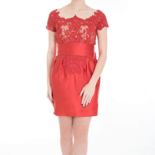 IVY DRESS - RED