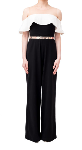 ANGEL JUMPSUIT - BLACK