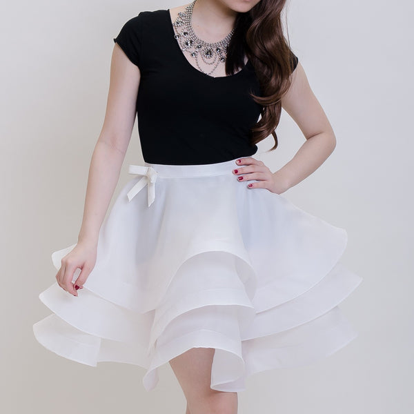 BALLERINA SKIRT - WHITE