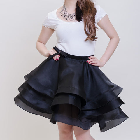 BALLERINA SKIRT - BLACK