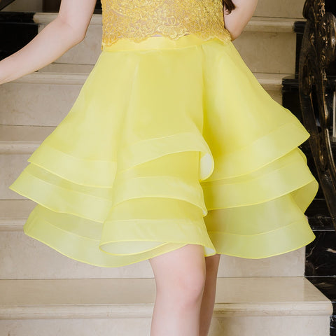BALLERINA SKIRT - YELLOW