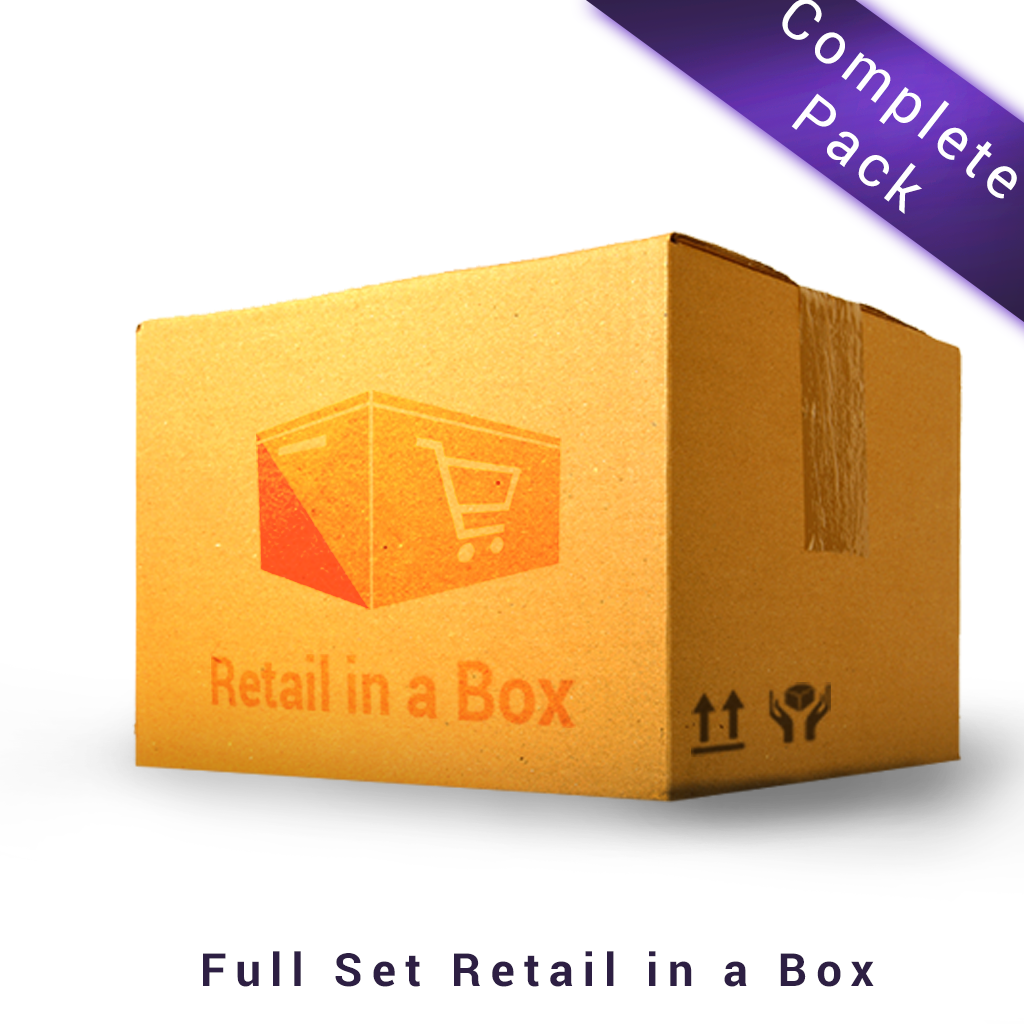Retail in a Box Complete Pack (Free 2 hours Tele-Consultation)