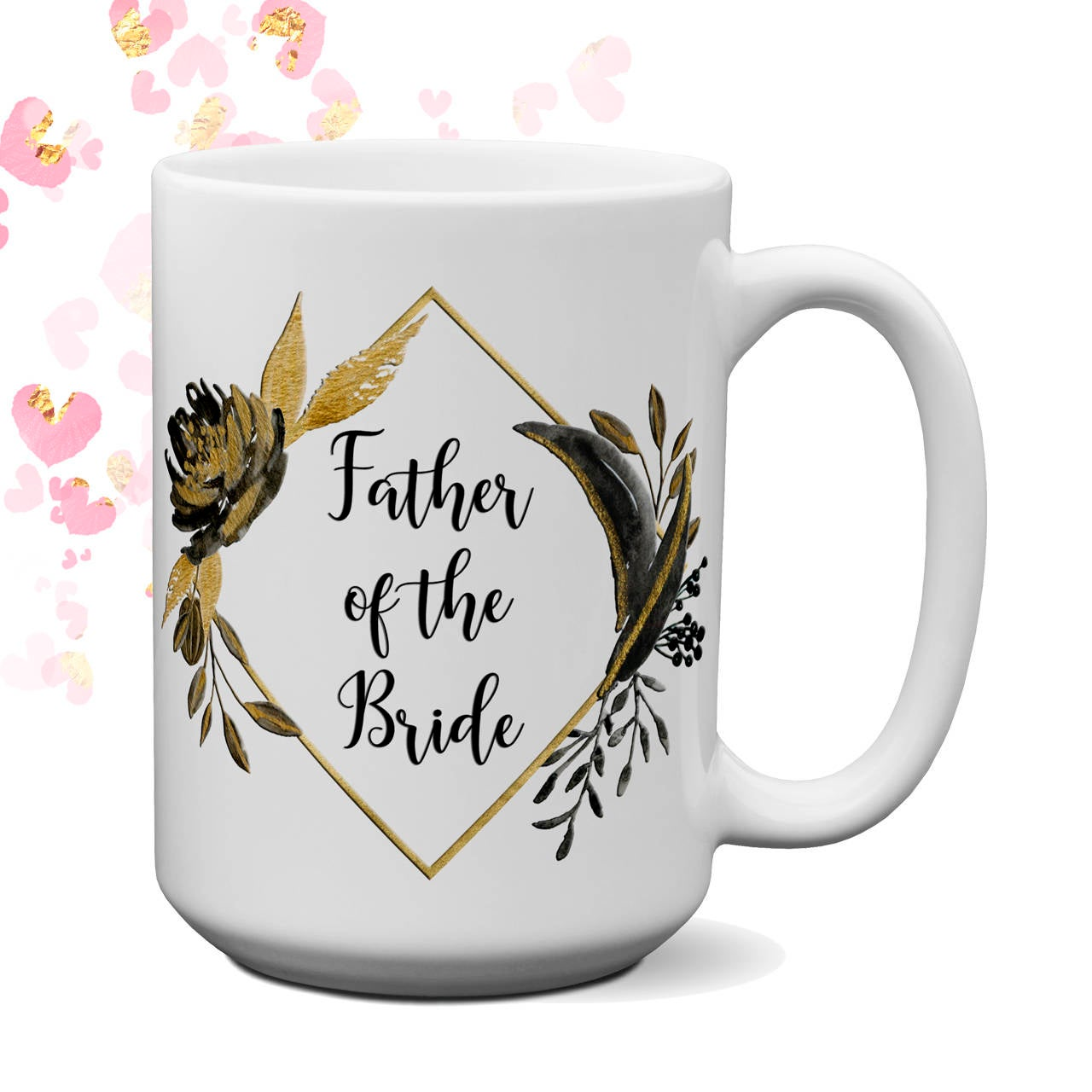 Personalized Parent Wedding Gift Thank You Set Wedding Frame Mother Father of the Bride Groom Mug Cup