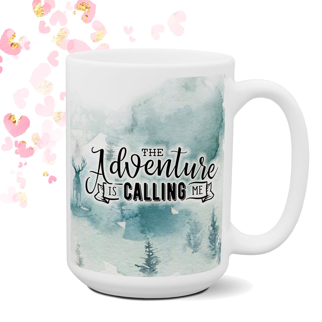 Camping Wilderness Coffee Mug Camper Coffee Cup Nature Lover Adventure Happy Camper Camping Mug