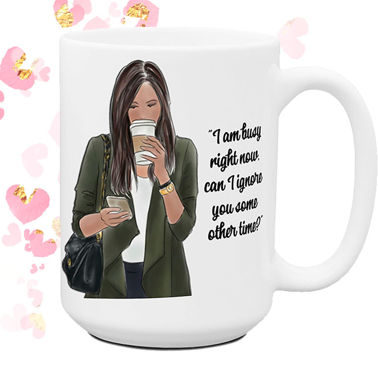 Office Humor Coffee Cup Co Worker Gift Can I Ignore You Some Other Time Gift for Her