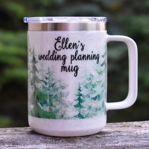 Personalized Wedding Planning Mug Engagement Gift Bride To Be Gift Custom Wedding Mug Fiance Gift Bridal Shower Gift for Her